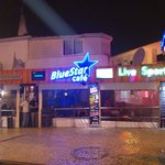 Blue Star cafe..the lads who run this are real fun guys who create an excellent atmosphere