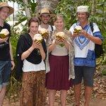 Färsk kokosnöt