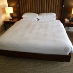 Spacious King bed