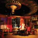 Santa Clause at his Office in Arctic Circle
