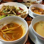 The Crab and the Tom Yum Soup is GREAT
