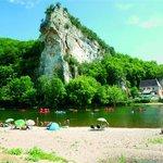 Plage sur la Dordogne