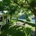 Camping en bord de Dordogne