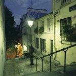 Paris at Dawn: Montmatre steps