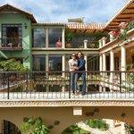 Vista desde el balcón de nuestra habitación, estamos mi esposa y yo :)