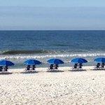 The beach - Sugar Sand!