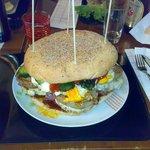 """panino gigante , panino """"da gara""""...."""