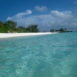 una delle due spiagge più grandi