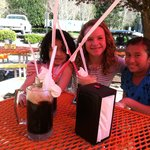 Man size root beer floats at XXX!