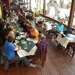 Bajada: Restaurant Toto´s voll