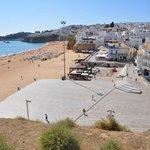Beach in Albufeira