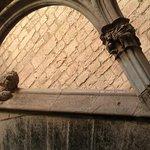 Detalle de la escalera del apalaci real