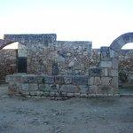 Estancias primitivas paredes del antiguo asentamiento