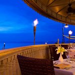 Ocean front dinning experience