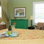 Island  Cottage bedroom