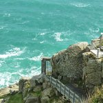 Minack Theatre external wall