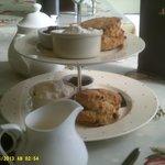 cream tea & scones