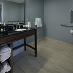ADA Bath - Height adjusted amenities and accessibility features