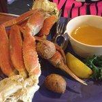 Great crab legs!