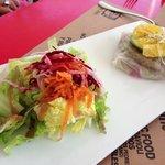 quinoa garbanzo veggie burger