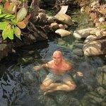 hot springs at Caldera