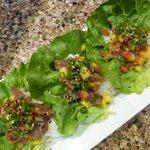 Poke Lettuce Wraps