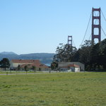 Golden Gate Bridge from the old parade field