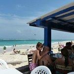 Terrraza y playa