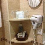nice toiletries in the bathroom