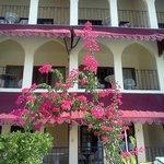 hotel balconies overlooking sea