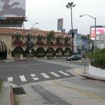 Sunset Boulevard facade