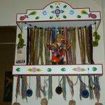 """""""ekeko"""" símbolo típico y cultural y tiene su correspondiente altar"""