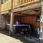 outdoor hottub