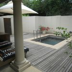Each Chalet has a plunge pool