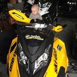 Jeune motoneigiste