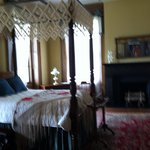 Upstairs bedroom at the mansion