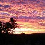 Sunset at Honeybee
