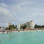 Ixchel Hotel Beach desde el mar