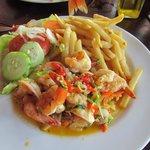 Golden Shrimps Photo