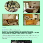(cabin # 1) Cabin Suite for up to 4  people
