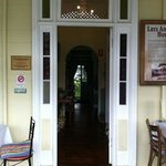 Nash Cafe Front door