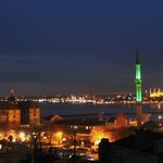 Kadikoy nights from Hush Hostel.