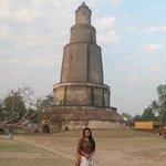 Victory tower at Pandua nearby Itachuna