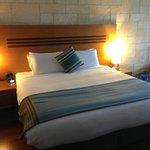 King Bed in Studio Villa.