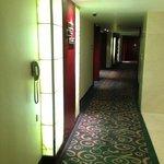 corridor of one floor
