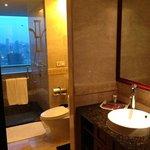 bathroom of room in 43rd floor