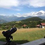 vue Mt Blanc exceptionnel