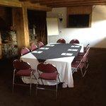 salle séminaire vue Mt Blanc