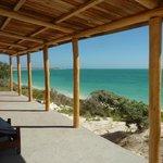 La vista dal bungalow a Smeralda Bay