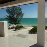 La vista dal bungalows a Smeralda Bay